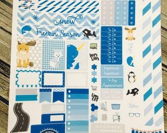 Happy Planner MINI Stickers - Arctic Friends