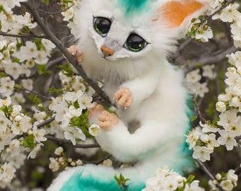 100 % handmade Fennec fox