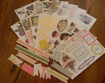 All About Her Full Color Cardstock Die Cuts / 115 Pieces - from Designer, Anna Griffin (KIT 240)