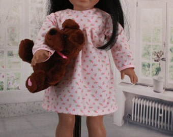 American Girl Doll Vintage Pink Nightgown