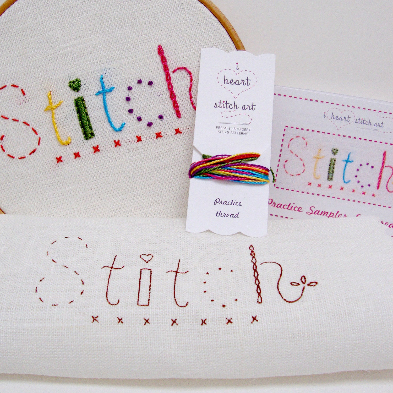 I Heart Stitch Art: the essential STITCH sampler!