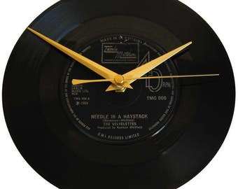 haystack needle furniture. the velvelettes vinyl record clock needle in a haystack wall decor gift for music fan wedding furniture