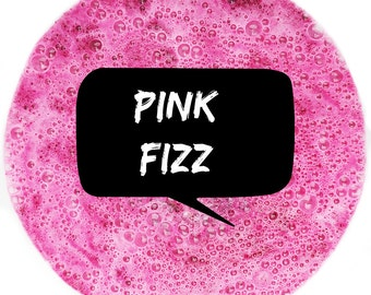 Pink Fizz Vegan Bath Bomb