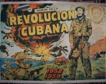 Cuba Revolution Fidel Castro nice poster