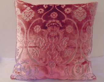 Designers Guild fabric Polonise Peony cushion cover
