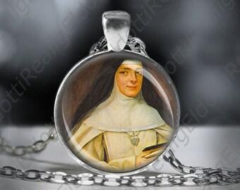 St. Mary Euphrasia Pelletier Catholic Christian Medal Pendant Patron Saint Marie Religious Jewelry