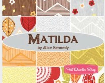 Matilda by Alice Kennedy for Timeless Treasure Fat Quarter Bundle