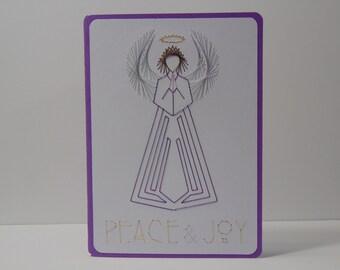 Peace & Joy Christmas Card