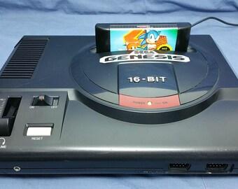 Sega Genesis S-Video Mod (Model 1) | Retro Gaming | Retro Gamer | Sonic | Video Game | Modded System