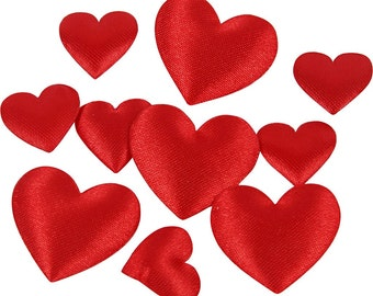 Satin Hearts - SALE