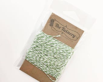 The Twinery Twine - Seaweed Green