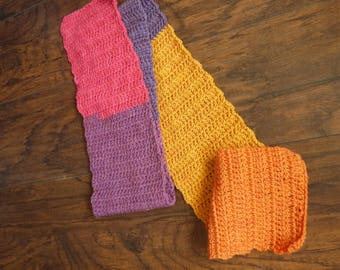 Sherbert party scarf