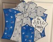 Gift Wrapped Hanukkah Door Sign