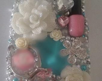 Diamond BLING Diva Samsung iPhone Case Note 2 3 4 4s 5 5s 5c 6 Plus