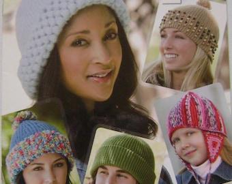 Slip Stitch Caps Crochet Instruction Booklet