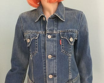 Levi,Blue Jean Jacket,Size S,Denim Jacket