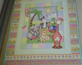 Childrens zoo quilt