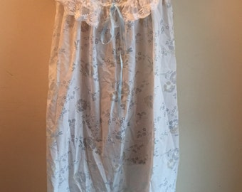 Vintage cotton night dress size M