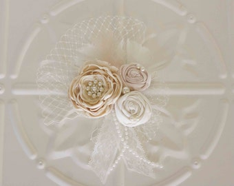 Custom Designed Vintage Inspired Wedding Hair Accessory