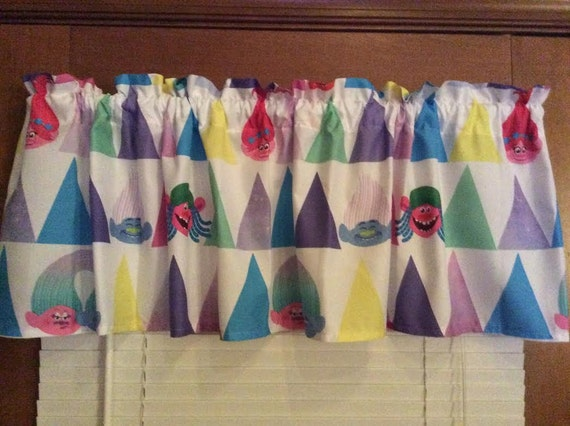 Trolls Bedroom Window Valances