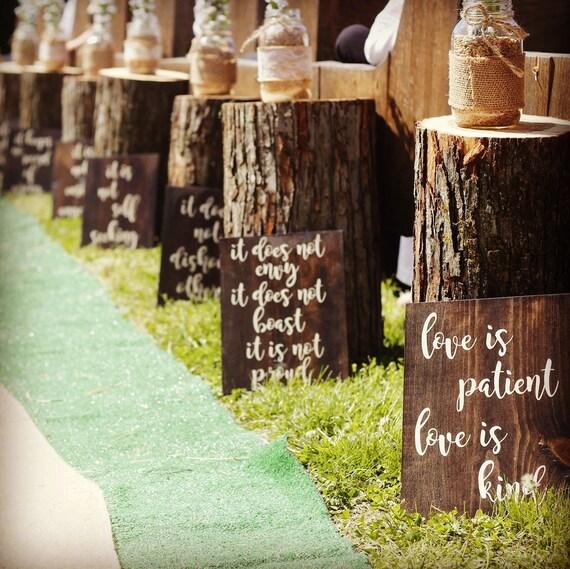 Love Is Patient Love Is Kind 1st Corinthians Wedding