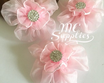 Flower girl flowers,headband accessories,hair clip accessories,hair flowers,headband flowers,fabric flowers,baby headband flower.