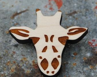 Giraffe Brooch African Animal Series Pin