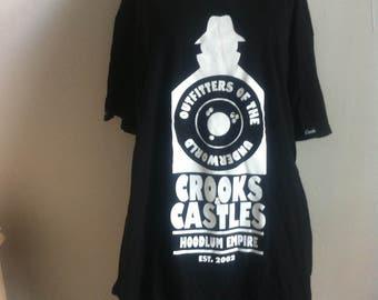 crooks and castles L t-shirt