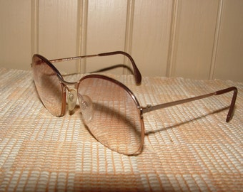 "Classic Vintage 1980's Nordic International ""Mod. 589"" Eyeglasses, Made in W. Germany! ~ Very nice"