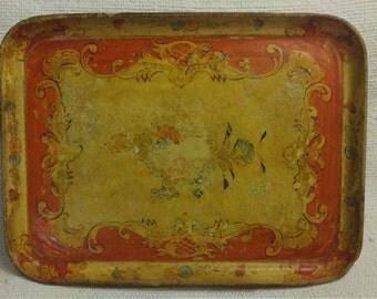 Well-worn, well-loved Italian tray