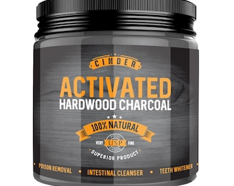 Activated Charcoal Powder Hardwood Derived - Activated Charcoal Powder