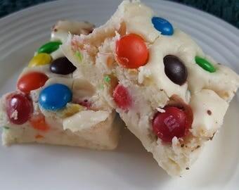 M&M's White Chocolate FUDGE Gourmet Candy Fudge