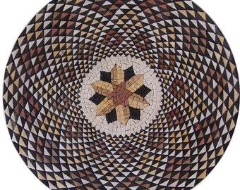 Handmade Marble Mosaic - Bombay I