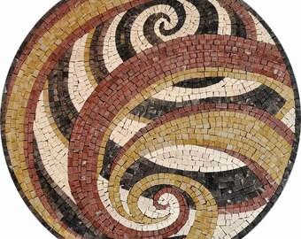 Swirl Design Rondure - Dabira