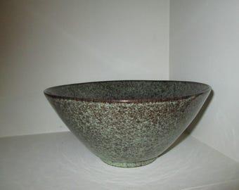 Vintage S Ballard Vermont  Pottery Bowl