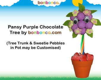 Purple Chocolate and Sweet Tree kit by Bonbonco.