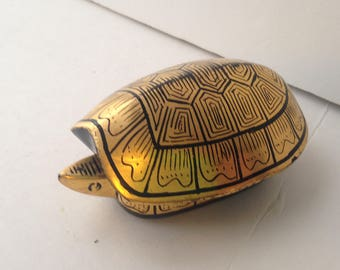 Lacquered Turtle Box