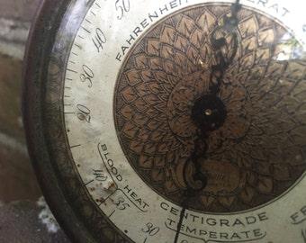 FREE SHIPPING - Beautiful Vintage Barometer