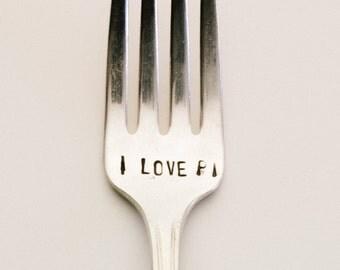 I Love Pi Fork