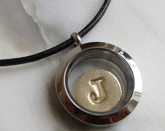 Stainless Steel Memory Locket Necklace