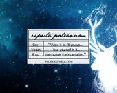 Patronus Charm - Harry Potter Inspired Scented Soy candle