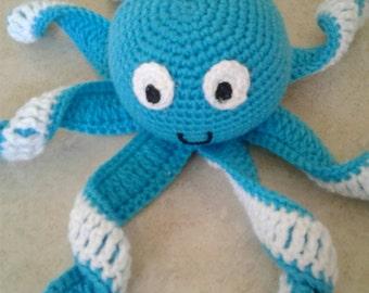 Custom amigurumi octopus