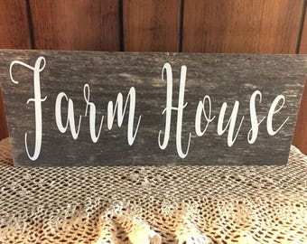 farm house sign - rustic sign - wood sign - kitchen signs - farm house decor - rustic gifts