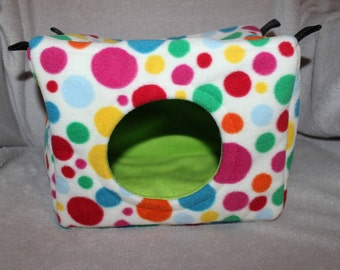 Custom made to order small animal bed / cube (ferret, chinchilla, rat, degu)