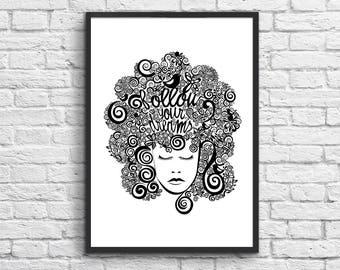 Affiche Art-Poster 50 x 70 cm - Dreaming Girl