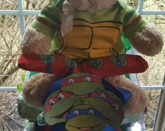 Ninja Turtle Tricycle Diaper Cake