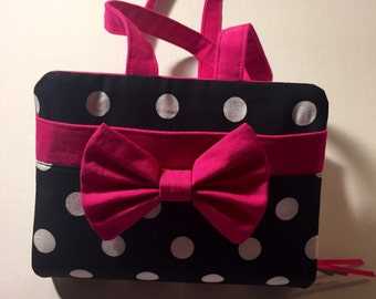 NWT Polka Dot & Hot Pink Bible Cover