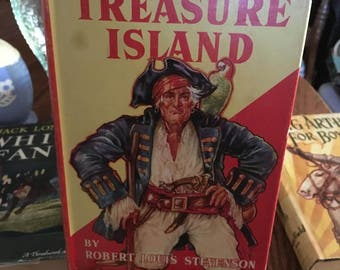 25% OFF!  Vintage Young Adults Book - TREASURE ISLAND