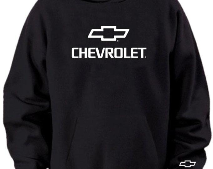 Chevrolet Bowtie Logo Black White Green Hoodie Sweater