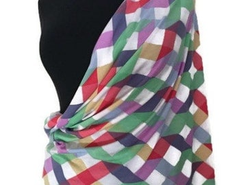 Nursing Cover Infinity Scarf Stretch Jersey